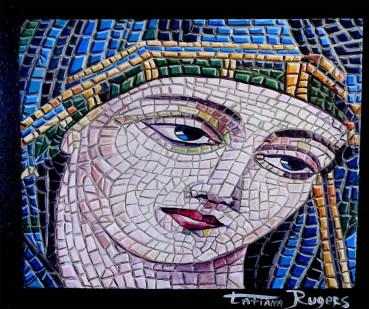 """Trompe l'Oeil """"Mosaic""""."""